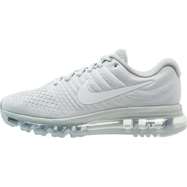 pretty nice ab85f f06c0 Nike Performance AIR MAX 2017 Obuwie do biegania treningowe grey  heather white - Szare buty treningowe Nike Performance, z materiału.