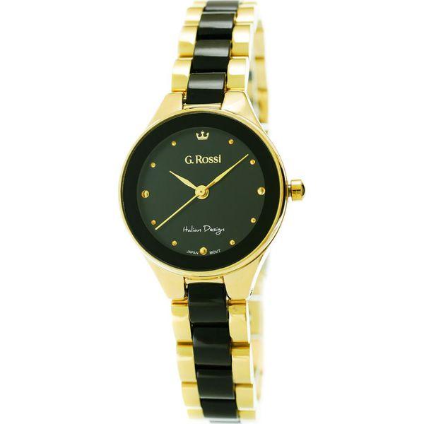6fb2057898a1b Zegarek Gino Rossi damski Kostini złoto-czarny (11041B-1D1) - Czarne ...
