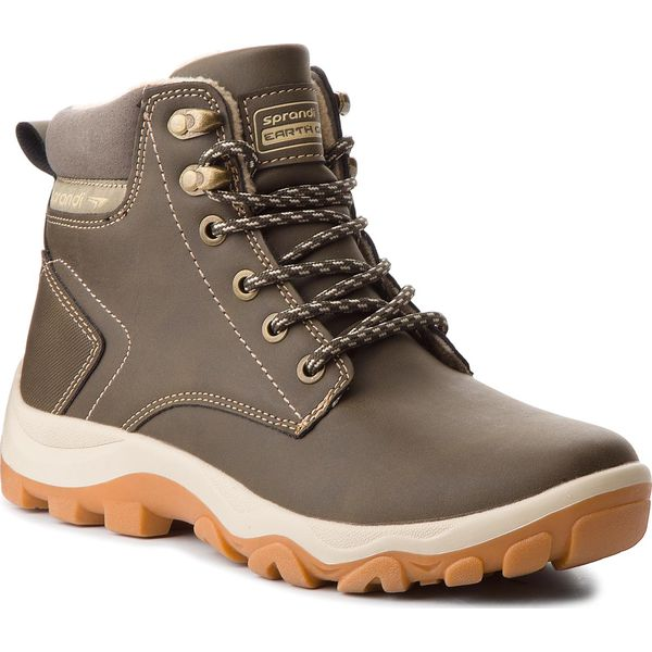 a9d4012d09138 Trekkingi SPRANDI - BP40-6246Y-1 Khaki - Buty trekkingowe marki ...