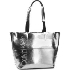 7287774e2f Torebka CALVIN KLEIN - Dual Shopper Metalic K60K604658 904. Shopper bag  marki Calvin Klein.