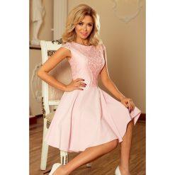 1929ce0b57 Sukienki z koronki pudrowy róż - Sukienki - Kolekcja wiosna 2019 ...