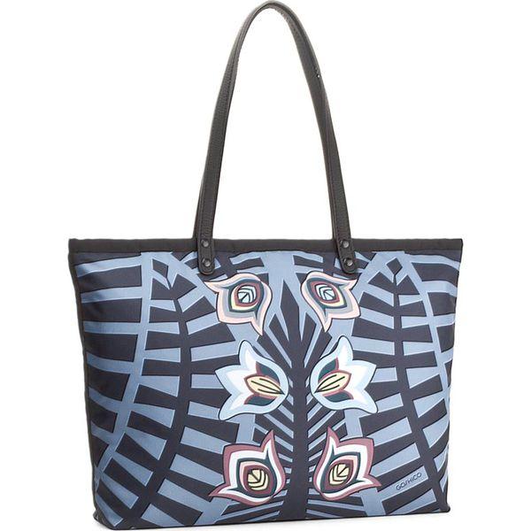 dc7ca2eec0c32 Torebka GOSHICO - Polish Jungle 3447 Multikolor - Shopper bag marki ...