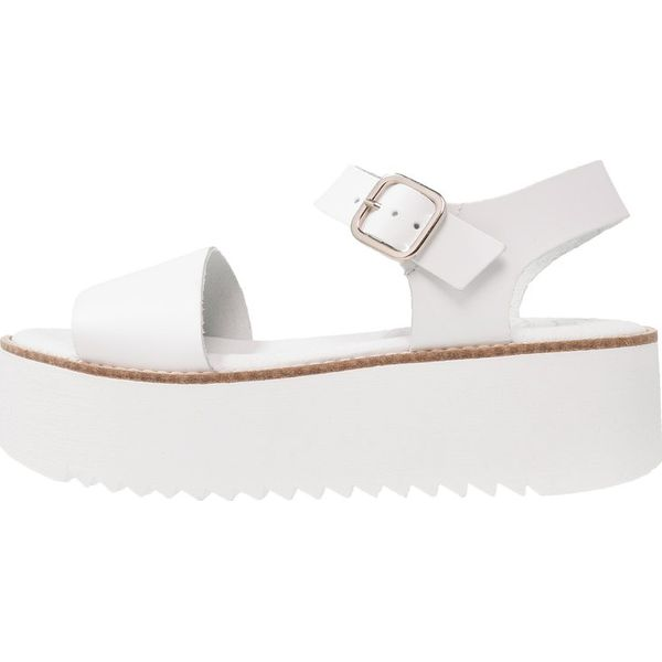 Świeże Coolway DUBY Sandały na platformie white - Białe sandały marki MT96