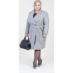 65d6676043 Elegancki płaszcz MIRA duże rozmiary dla puszystych. Płaszcze marki Moda Size  Plus Iwanek. W
