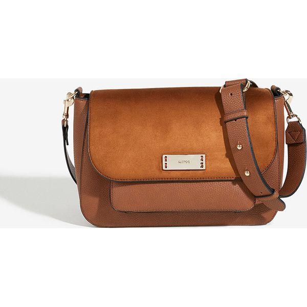 be2773421db45 Parfois - Torebka - Brązowe torebki klasyczne marki Parfois