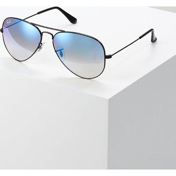 5219e1764d02 RayBan AVIATOR Okulary przeciwsłoneczne mirror gradient blue - Moda ...