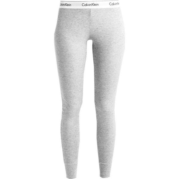 4a4161eb6d728 Calvin Klein Underwear Spodnie od piżamy mottled grey - Szare piżamy ...