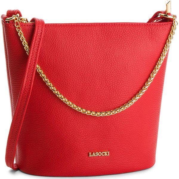 852473991d49e Torebka LASOCKI - VS4340 Czerwony - Czerwone torebki klasyczne marki ...