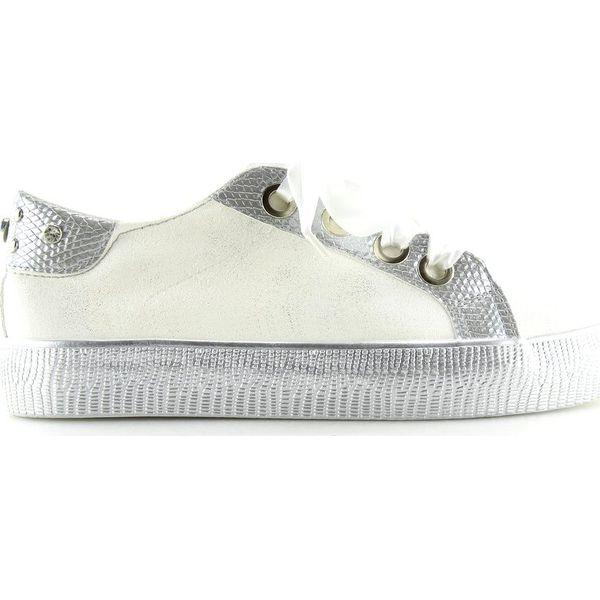 Trampki damskie białe BS096 BAS 1 White