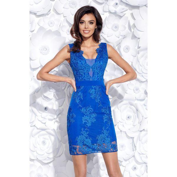 f84d8b0bee Sukienka z gipiury 2163 - Sukienki marki Bico. Za 229.00 zł ...