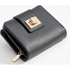 5f6bddb323616 Mały portfel z przegrodami - Czarny. Portfele marki Mohito. Za 49.99 zł.