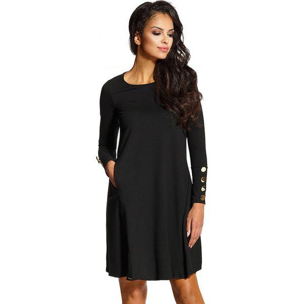 97a3cf53847301 Sukienka w kolorze czarnym - Czarne sukienki marki Lemoniade, s, z ...