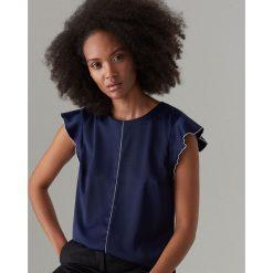 c42be31b9e Bluzka z krótkimi rękawami - Niebieski. Bluzki marki Mohito. Za 59.99 zł.