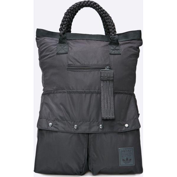 d4ad8dd2ec216 adidas Originals - Plecak Roll Top Carbon - Szare plecaki marki ...