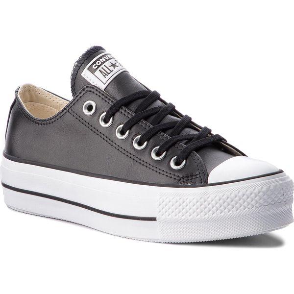 10509fd206e96 Trampki CONVERSE - Ctas Lift Clean Ox 561681C Black/Black/White ...
