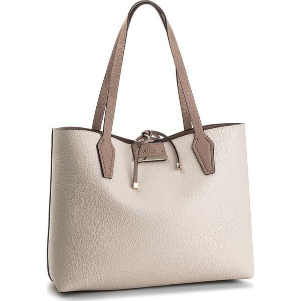 19bf9111b23f3 Torebka GUESS - Bobbi (VG) HWVG64 22150 SNM - Białe shopper bag ...
