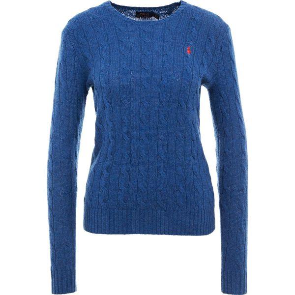 7bbd134a3 Polo Ralph Lauren JULIANNA Sweter new blue heather - Swetry marki ...