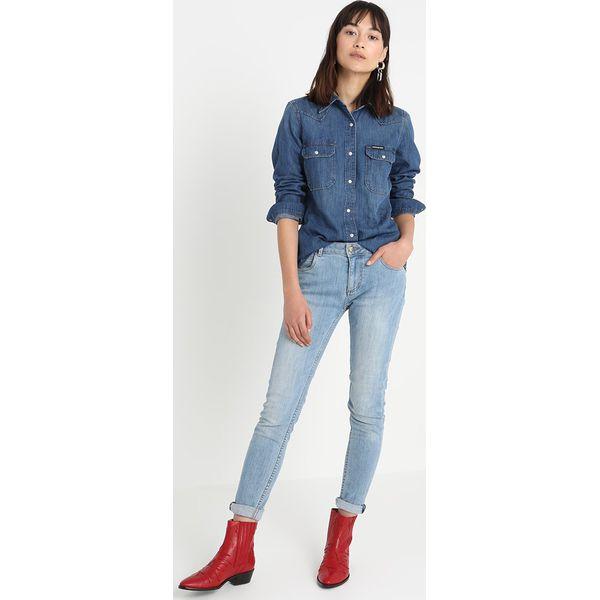 6b5556890 Calvin Klein Jeans WESTERN LEAN Koszula barcelona blue - Koszule ...