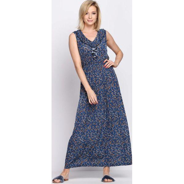 d8a2a5e786 Niebieska Sukienka Retro Romantic - Sukienki marki Born2be. Za 49.99 ...