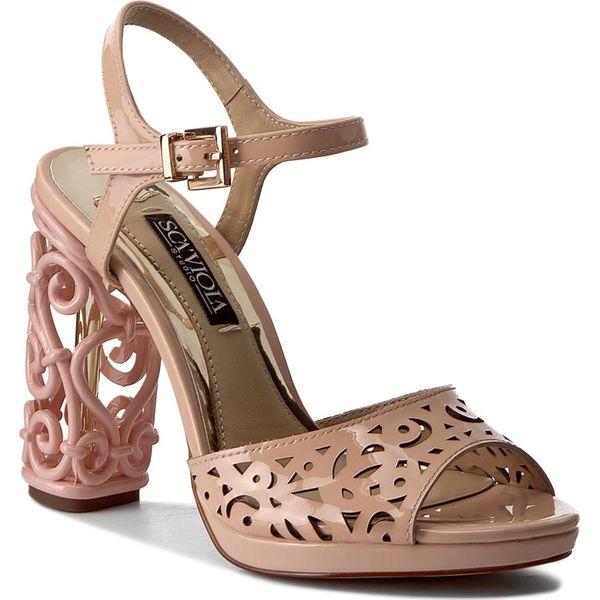 67d5122fb85a15 Sandały SCA'VIOLA - PJ050L-20-12Q Pink - Czerwone sandały marki Sca ...