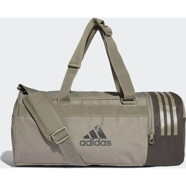 73465dfa215c0 Adidas Adidas Torba Convertible 3-Stripes Duffel Small Beżowy - Moda ...