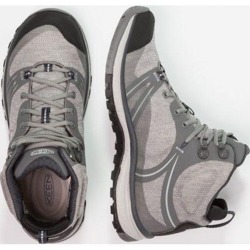 e6ba7305 Keen TERRADORA MID WP Buty trekkingowe gargoyle/magnet - Szare buty ...
