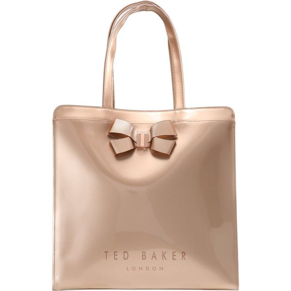 661cc03786a Ted Baker VALLCON BOW DETAIL LARGE ICON BAG Torba na zakupy rosegold ...