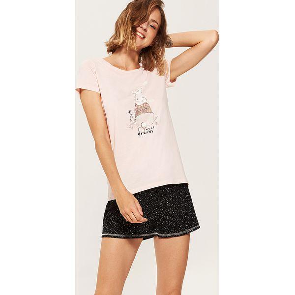 330df040f7e514 Dwuczęściowa piżama z królikiem - Wielobarwn - Piżamy House. W ...