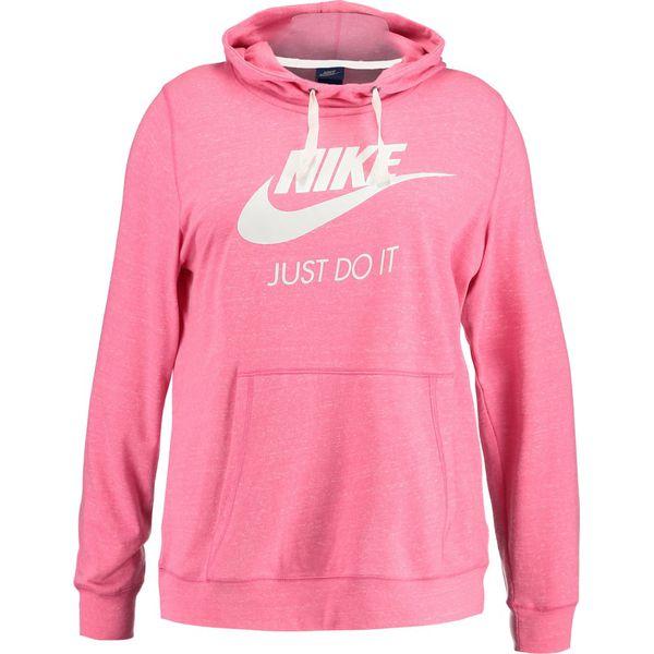 3323334721dbed Nike Sportswear GYM VINTAGE HOODIE Bluza z kapturem pink/sail ...