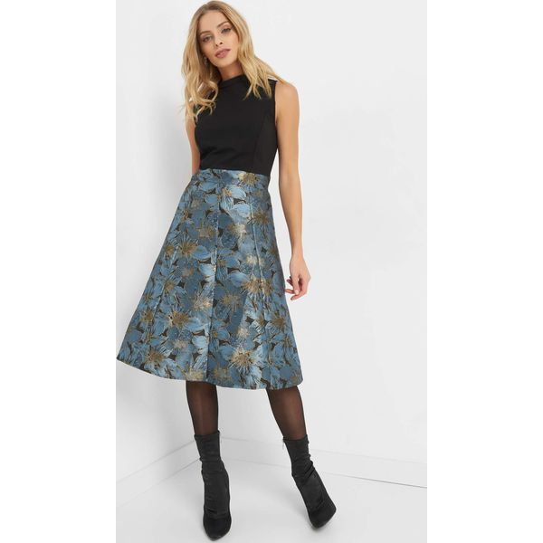 80d73a5724 Żakardowa sukienka midi - Sukienki marki Orsay. W wyprzedaży za ...