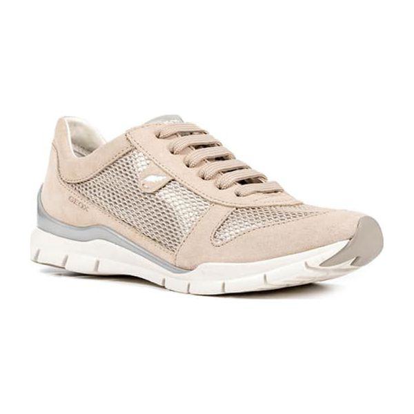 f6e063e0 Półbuty w kolorze beżowo-złotym - Brązowe buty sportowe lifestyle ...