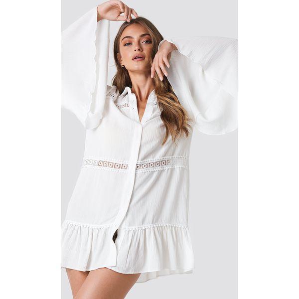103519c73a9369 Trendyol Bluzka z detalem - White,Offwhite - Białe bluzki marki ...