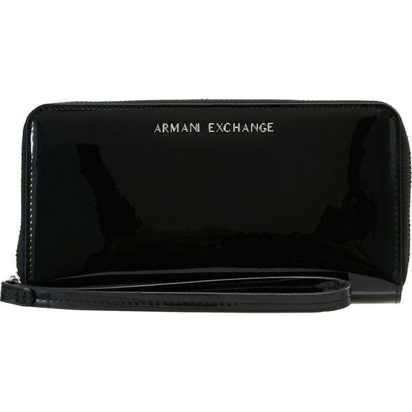 1a7208d91a8b1a Armani Exchange Portfel black - Czarne portfele Armani Exchange. Za ...