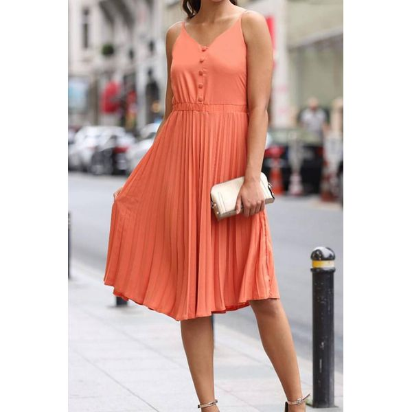 Sukienka MELIANA ORANGE