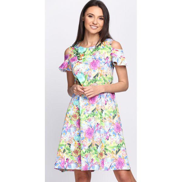 6502322a85 Zielono-Różowa Sukienka Vanilla - Moda w Women s Health