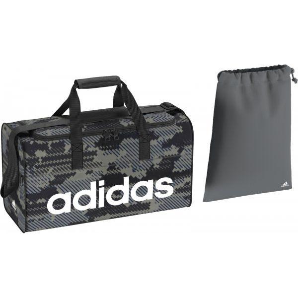 632af2baa8e63 Adidas Torba Sportowa Lin Per Tb S Gr Vista Grey/Black/White S ...