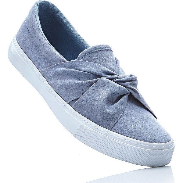 4f4235ba975c9 Buty sportowe wsuwane bonprix niebieski gołębi - Niebieskie buty ...