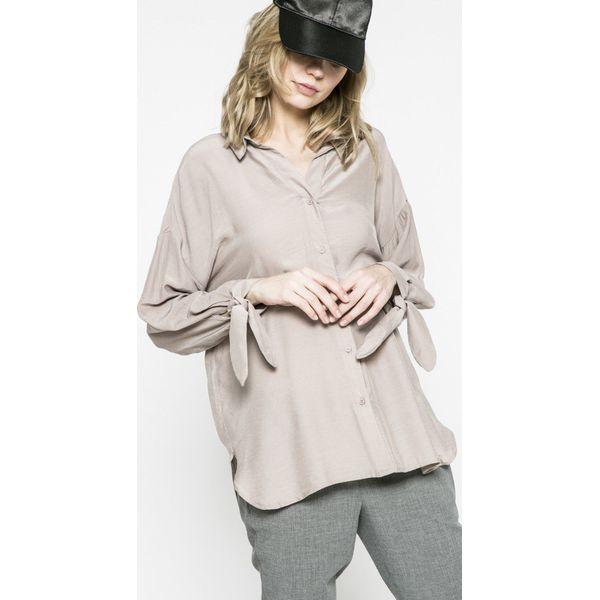 3d3e3b20b25081 Only - Koszula - Szare koszule ONLY, z dzianiny, casualowe, z ...