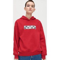 Czerwone bluzy sportowe ze sklepu Cropp Kolekcja wiosna