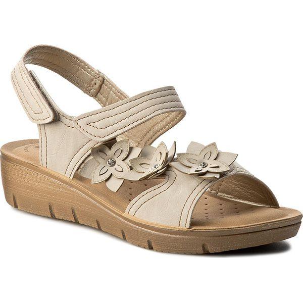 131fa3f4a Sandały INBLU - LIABOO11 Beżowy - Brązowe sandały marki Inblu, z ...
