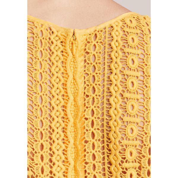 df14a690ab1fe MICHAEL Michael Kors Sukienka letnia taxi yellow - Żółte sukienki ...