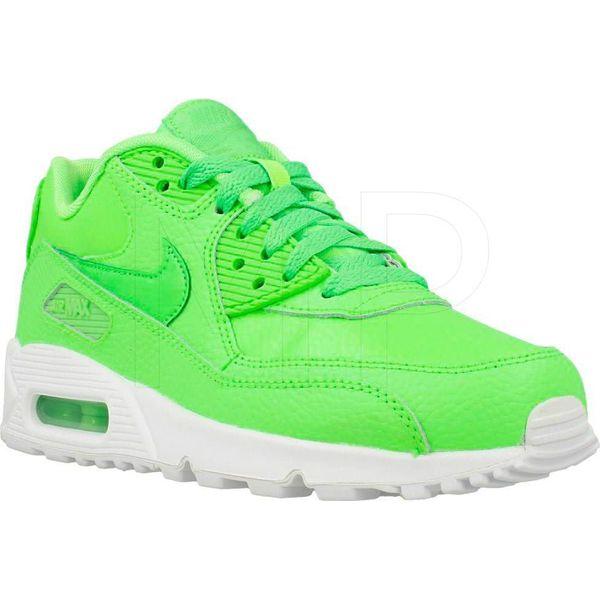 efa9232bb16f5 Nike Buty damskie Air Max 90 Ltr Gs zielone r. 37.5 (724821-300 ...