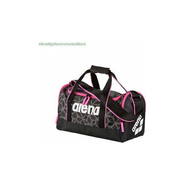 046d0c32b8538 Arena Torba sportowa Arena Spiky 2 Medium (black fuchsia) - 1E006 ...