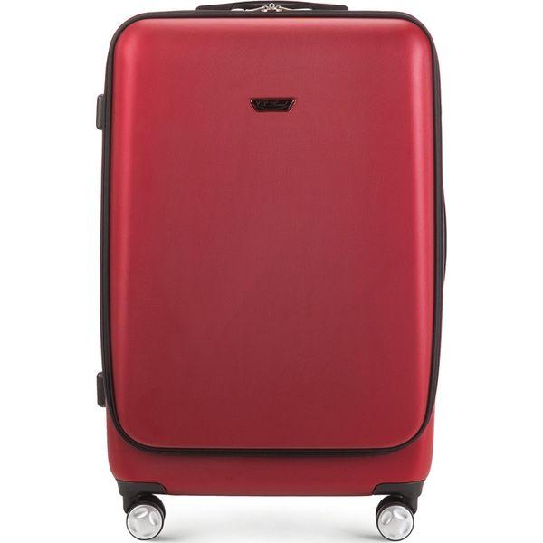 37755d036a23f Walizka duża V25-3A-782-30 - Czerwone walizki marki Wittchen. Za ...