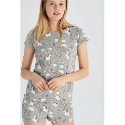 17294d9a340ef5 Dwuczęściowa piżama z jednorożcami - Jasny szar. Piżamy marki Sinsay. Za  39.99 zł.