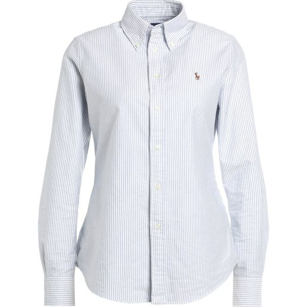 279bf5ae254b Polo Ralph Lauren HARPER CUSTOM FIT Koszula blue white - Moda w ...