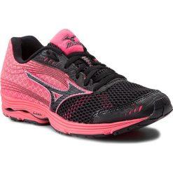 30f5689ee9a8 Buty MIZUNO - Wave Sayonara 3 J1GD153009 Czarny Różowy. Czarne buty  treningowe marki Mizuno