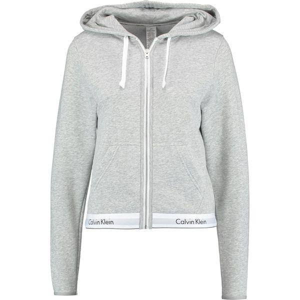 e28681259c5d09 Calvin Klein Underwear HOODIE FULL ZIP Koszulka do spania grey ...
