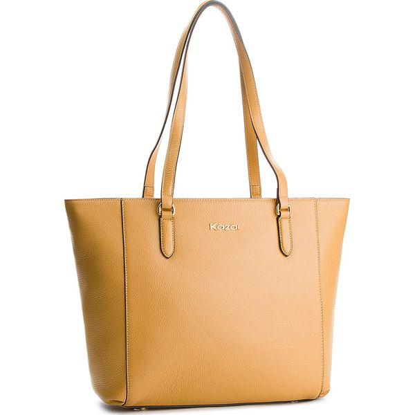 e962bfe0b3e84 Torebka KAZAR - Modena 32904-01-03 Beige - Shopper bag marki Kazar ...
