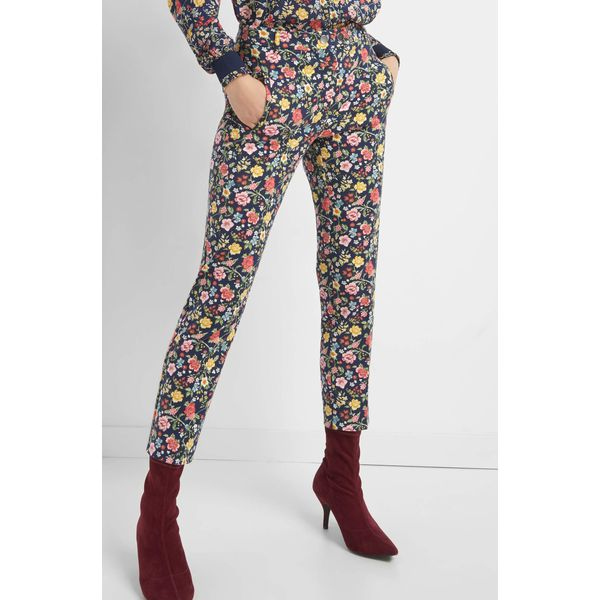 d34ffaf09fd63 Cygaretki w kwiaty - Spodnie materiałowe marki Orsay. W wyprzedaży za 60.00  zł. - Spodnie materiałowe - Spodnie i legginsy - Odzież damska - Odzież,  obuwie, ...